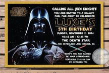 Awesome Star Wars Invitation Birthday Party Set!