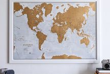 map for wall