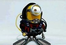 Minions / Minions. Cute, funny, cartoon, characters