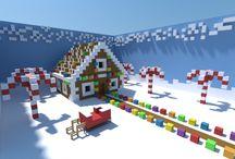 Christmas minecraft