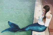 Mahina Mermaid & Fabric Tail