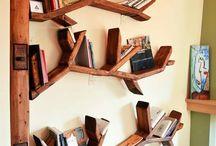 Βιβλιοθήκες - Κρεβατι