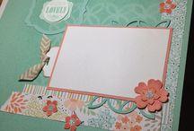 Scrapbook layouts