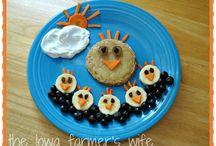 Kids Lunch & Snack Ideas