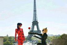 Miraculous Ladybug and Black Cat