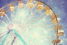 • ferris wheels + carousels• / • i love ferris wheels + carousels •
