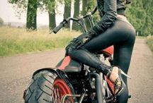 Leather, studs