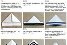 Paper boats and others / Paper