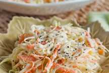 One of the best Coleslaw recipes around! Simple and deli Sweet and Spicy Sriracha Bacon Chicken Bites- amazing app for get-togethers or just movie/game night! cious!