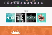 All Nations Church // Website