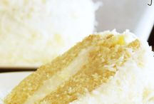 Coconut Cream Cakes