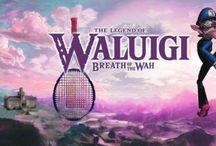 Waluigi appreciation board