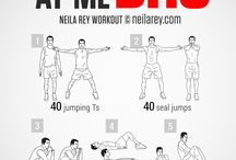 Workouts from Neila Rey / a great way to mix up the workouts! Go to the website and check it out its well done and has good balance in the work outs. http://neilarey.com/ / by Damon Laws