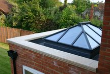 Lantern roof lights