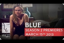 Blue Season 2 / Blue tries to come to terms with her troubled past, just as new problems arise in the present involving Josh's developing romantic interests, his growing curiosity about the identity of his father, and more.  Starring Julia Stiles, Uriah Shelton, J.R. Cacia, Mark Consuelos, Wanda De Jesus, Michelle Forbes, Carla Gallo, Brooklyn Lowe, Joel McKinnon Miller, James Morrison, Taylor Nichols, William Peterson, Samantha Quan, Kathleen Quinlan, Holly Robinson Peete, Brian Shortall, Jacob Vargas. / by WIGS