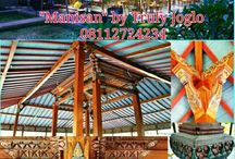 "Restaurant Joglo in Bali, ""Manisan"" by Truly Joglo Kudus  Info & quotes : Telp/Whatsapp:(+62) 08112724234 Facebook: Arif Joglo Java Bali email: Truly.Arifsuryanto@Gmail.com"