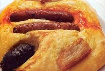 pizzas y masas ,empanadas y quiches / by Maite Barbosa