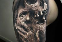 Face and skull