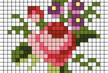 Cross stitch miniatures