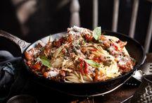 Food Photograph (pasta)