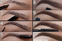 MAKE-UP - Augen - Lidschatten / Beauty Inspiration, Tipps,Tricks & Anleitungen rund um Augen Make-up und dezenten Lidschatten