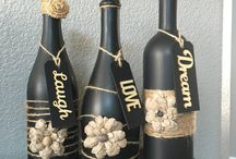 Bottles decor