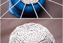 плетение из бум