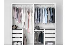 lemari pakaian sederhana