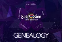 """Genealogy   Armenia Eurovision 2015 / Genealogy is a supergroup that was formed to represent Armenia in the Eurovision Song Contest 2015. Five of the six members come from a different continent of the Armenian diaspora. The group consists of Essaï Altounian (France/Europe), Tamar Kaprelian (America), Vahe Tilbian (Ethiopia/Africa), Stephanie Topalian (Japan/Asia), Mary-Jean O'DohertyBasmadjian (Australia) and Inga Arshakyan. The group performed the song """"Face The Shadow"""" in the contest. The song was originally called """"Don't Deny""""."""