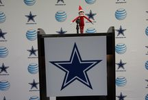 Elf on the Shelf / Greeting from Valley Ranch!   The Elf Magic happens when our fans are good, So listen to The Cowboys Hour, Cowboys Break, and Talkin' Cowboys like you should! In order to keep the magic and playoffs in sight, Keep cheering on the Boys to #FINISHTHEFIGHT.  / by Dallas Cowboys