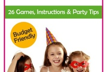 Kids Parties Ideas / Let´s Party with memorable creativity ! Party ideas - decoration & food - for our kids