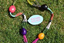 Collares de taguas / Collares de taguas realizados de manera cien por cien artesanal por Madame Kalalú.