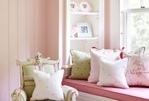 Girly Rooms & Spaces For My Twins / by Kristi Rhodes Cole