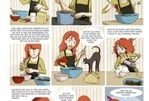 Recipes - Kitchencomics / by Bling Lehouck