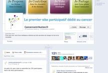 Sur Facebook et les réseaux sociaux... / Toute l'actualité de la plateforme sur Facebook, Twitter, Google +, Pinterest, Scoop.it & Co... / by Cancercontribution France
