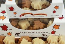 Vermont Maple Candy / Pure Vermont Maple Candy made in our sugarhouse kitchen.  Available in a variety of different shapes to match any occasion! Naturally gluten free and delicious.