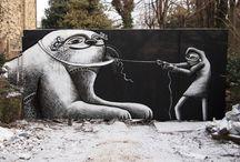 Banksy / by Mon