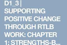 Strength Based assessment / RTLB resource