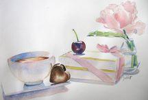 Painted sweets, malowane słodkości
