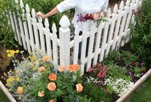 Vege patch fencing :) / by Leonie Lyons