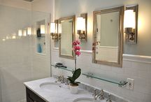 Master bathroom / Someday, I will have space for an ensuite bath and it will be fabulous.