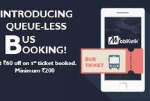 Indian Bus Ticket
