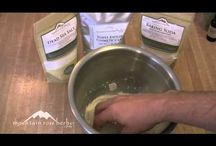 Making our own body care products. / Homemade body care products. Favorite natural ingredients and recipes.