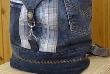 mochila jeans