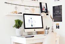 Déco de bureau 2018 / Dernières tendances en décoration pour le bureau : on prépare son espace de travail pour une rentrée réussie !