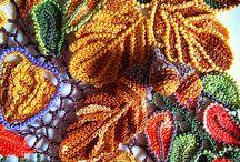 free form crochet ,knitting