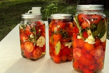 Konserverade tomater