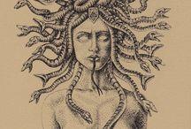 Tatuagem de medusa