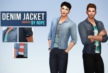 TheSims4 CC Male (Clothes/Shoes)