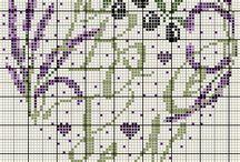 Sticken -   Lavendel